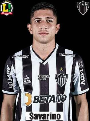 Savarino - 6,0: Entrou ligado no jogo, mas já era tarde demais para furar o bloqueio do Palmeiras.