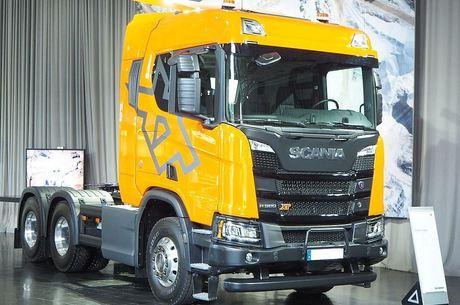 Scania 580 figura como o caminhão com o IPVA mais caro