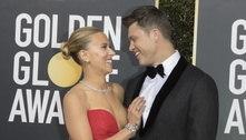 Scarlett Johansson dá à luz primeiro filho com atorColin Jost