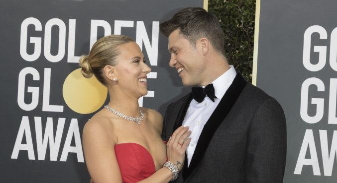 Scarlett Johansson e Colin Jost estariam esperando o primeiro filho juntos