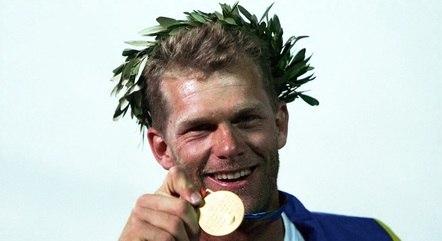 Robert Scheidt é bicampeão olímpico