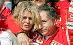 Jean Todt também mantém contato frequente com Corinna Schumacher, esposa do ex-piloto há 25 anos
