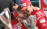 Schumacher segue sem aparições públicas desde o grave acidente de esqui sofrido em dezembro de 2013 e Todt é uma das poucas pessoas que têm autorização para visitar o ex-piloto