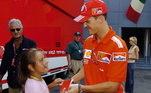 O alemão esteve naFórmula 1de 1991 a 2006 e de 2010 a 2012. Durante todo o período foi adorado pela torcida, principalmente os da Ferrari, já que ele ajudou a escuderia a voltar ao topo do mundo
