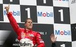 Além dos setes títulos, Schumacher conquistou 91 vitórias na principal categoria do automobilismo
