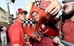 'É claro que o Schumacher acompanha a carreira do filho. Nós estamos muito contentes por ter novamente um Schumacher no mais alto nível do automobilismo', contou o amigo