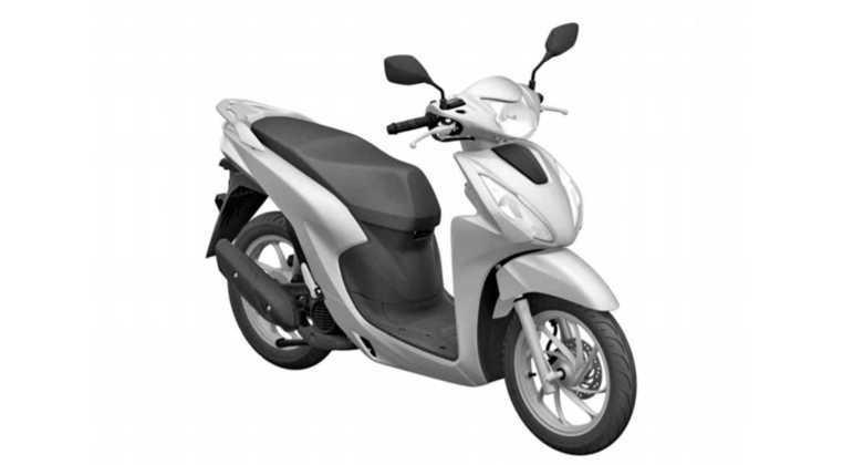 Moto vem equipada com trem de força monocilíndrico de 109 cm³, que é arrefecido a ar e tem injeção eletrônica e comando de válvulas simples no cabeçote