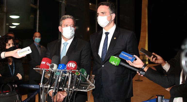 Presidente do Senado e Presidente da Câmara dos Deputados foram intimados nas ações