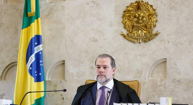 Presidente do STF, ministro Dias Toffoli, que sugeriu determinação
