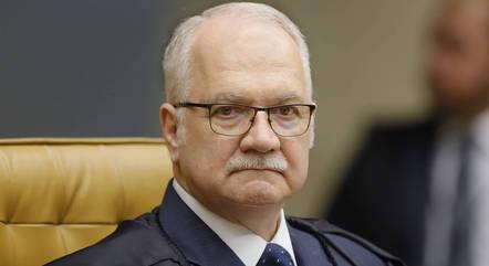 Na imagem, ministro Edson Fachin (STF)