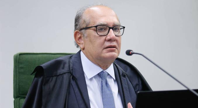 O ministro Gilmar Mendes, que concedeu direito de auditor ficar calado