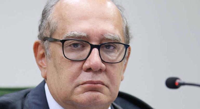 Ministro Gilmar Mendes preside sessão da 2ª turma realizada por videoconferência. Foto: Fellipe Sampaio /SCO/STF (09/03/2021)