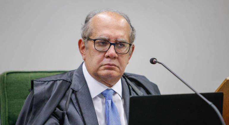 O ministro Gilmar Mendes, presidente da Segunda Turma