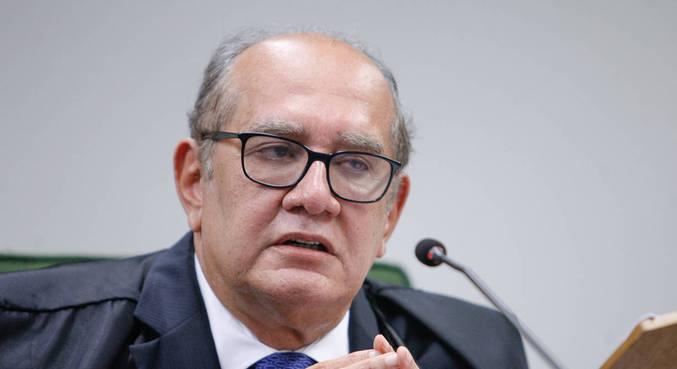 O ministro Gilmar Mendes, durante sessão da 2ª turma realizada por videoconferência