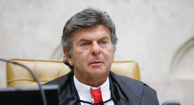 O presidente do STF, Luiz Fux