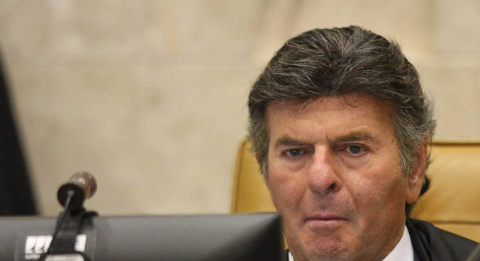 Presidente do STF, ministro Luiz Fux, preside sessão plenária por videoconferência
