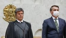 Fux se reúne com Bolsonaro e pede que adie indicação de novo ministro