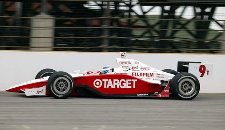 Scott Dixon conquistou o título de 2003 da IRL pela Ganassi