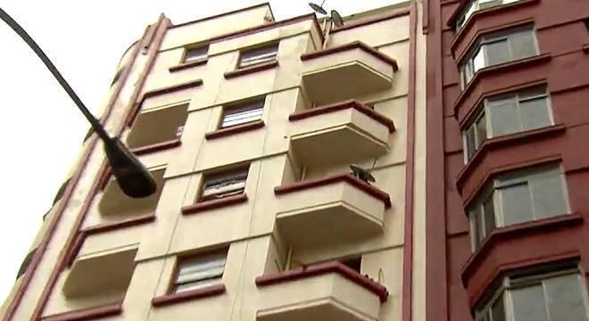 Vítima foi jogada do 7º  andar de um prédio