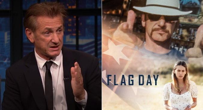 Sean Penn e a filha, Dylan Penn, atuam juntos no filme 'Flag Day', dirigido por ele