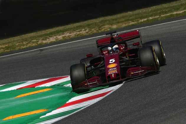 Sebastian Vettel decepcionou mais uma vez e larga apenas em 14º