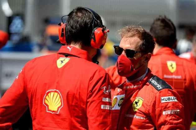 Sebastian Vettel deu 39 voltas com os pneus macios em Barcelona