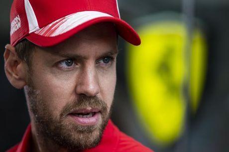 Vettel não está numa boa fase