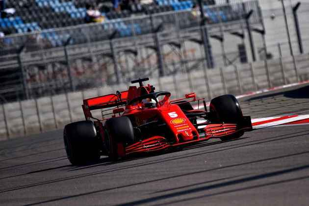 Sebastian Vettel ficou a 1s664 de Valtteri Bottas, o mais rápido do dia