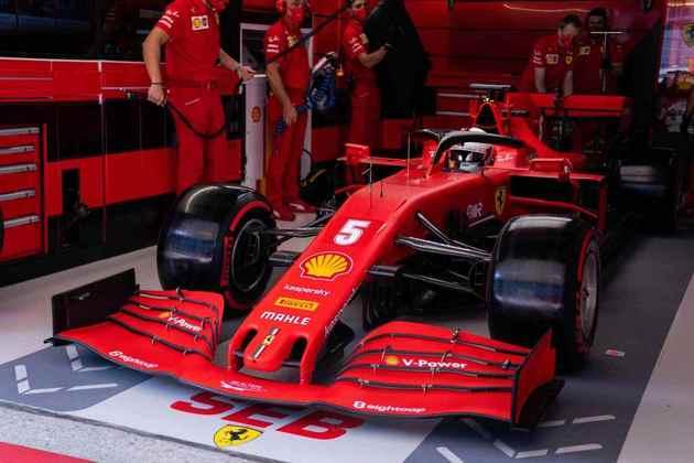 Sebastian Vettel ficou na décima posição em Sóchi