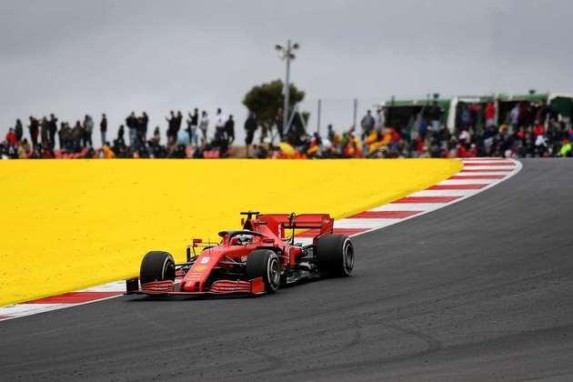 Sebastian Vettel finalmente voltou a pontuar e conquistou o décimo lugar em Portimão