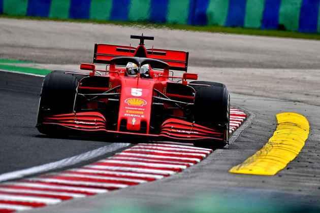 Sebastian Vettel foi o mais rápido do segundo treino livre