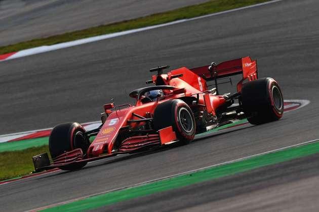 Sebastian Vettel foi o oitavo na sexta-feira em Istambul.