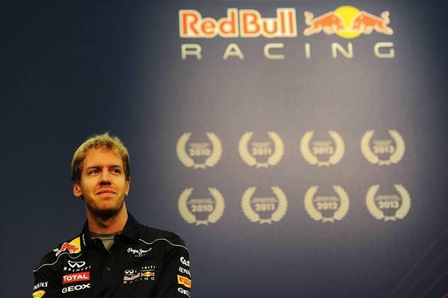 Sebastian Vettel imprimiu grande domínio entre 2010 e 2013, conseguindo todos os títulos