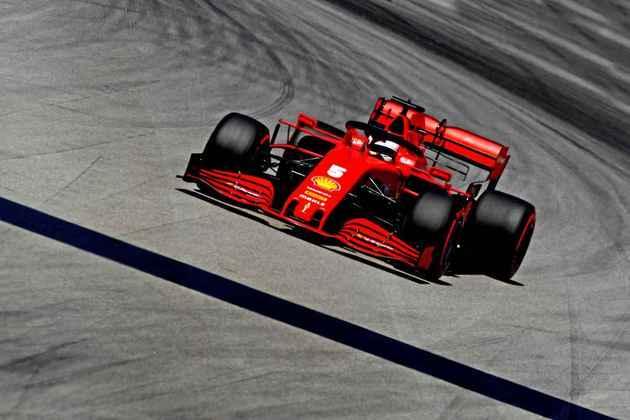 Sebastian Vettel novamente ficou no Q2 e larga em 11º