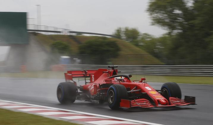 Sebastian Vettel surpreendeu com o melhor tempo do segundo treino livre