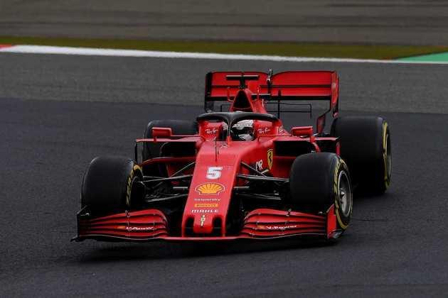 Sebastian Vettel teve um dia esquecível. Completou apenas em 11º