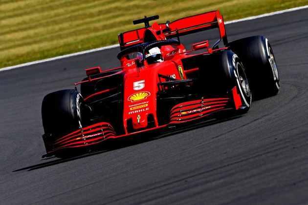 Sebastian Vettel teve um dia para esquecer. 12º colocado