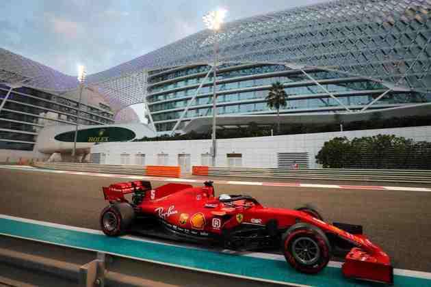 Sebastian Vettel vai largar apenas em 13º.