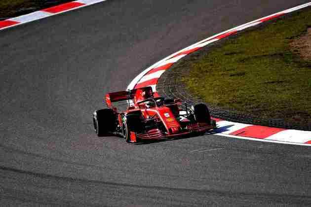Sebastian Vettel voltou a cair no Q2 em Nürburgring