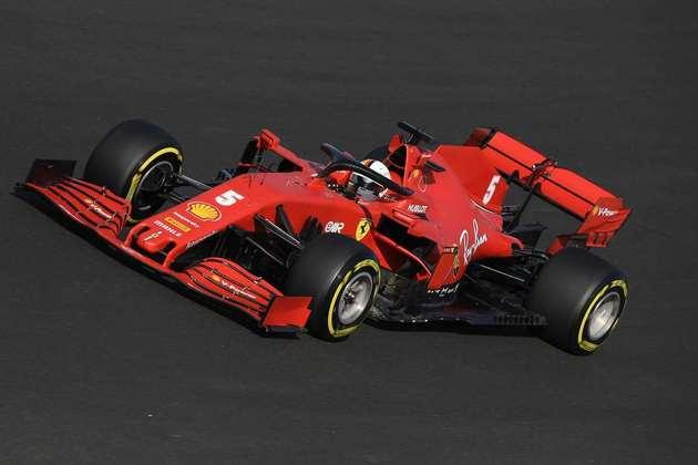 Sebastian Vettel voltou a ser a grande decepção da classificação em 2020