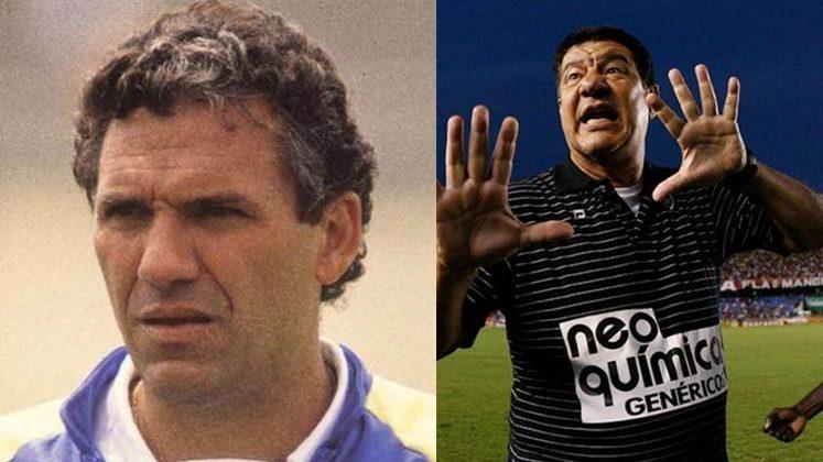 Sebastião Lazaroni/Joel Santana - Vasco 1987: naquele ano, Joel Santana deixou o Vasco para assumir um time do exterior. Em seu lugar, entrou Sebastião Lazaroni, que foi campeão estadual com o Cruz-Maltino