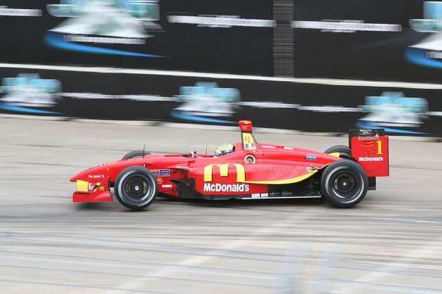 Sébastien Bourdais conquistou o título da Champ Car pela Newman Haas