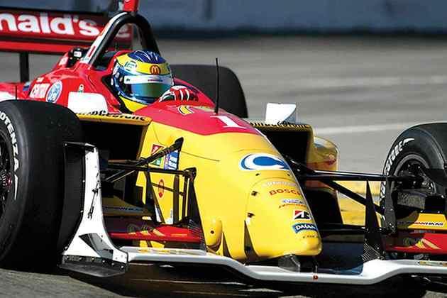 Sébastien Bourdais conquistou o título de 2006 da Champ Car pela Newman Haas
