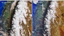 Argentina tem seca e falta de neve na Patagônia ena região de Cuyo