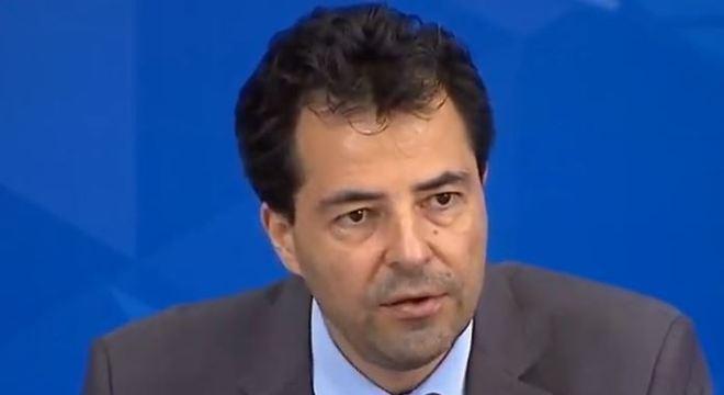 Secretário de política econômica do ministerio da Economia, Adolfo Saschsida