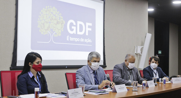 GDF também anunciou antecipação de doses da AstraZeneca