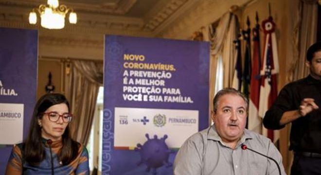 Secretário de Saúde do Estado, André Longo destaca que a situação é crítica, mas que a chegada de respiradores pode impedir que o colapso se instale no sistema de saúde