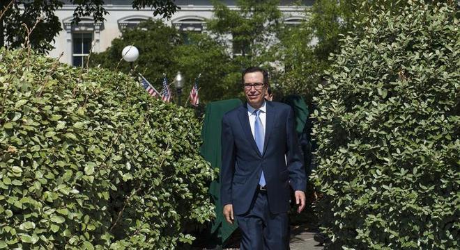 Secretário do Tesouro, Steven Mnuchin anunciou sanções nesta quinta