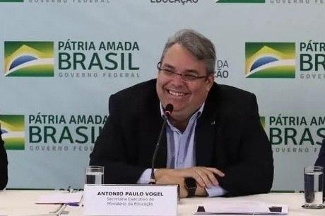 Antonio Paulo Vogel, secretário-executivo do MEC