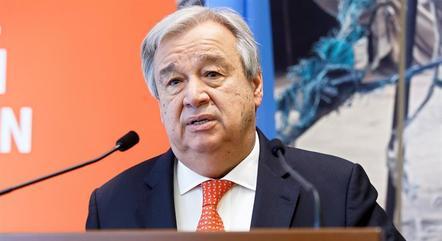Na imagem, António Guterres (ONU)